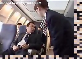 stewardess handjob japanese